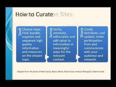 An Introduction to Content Curation and Its Relevance For Students and Teachers