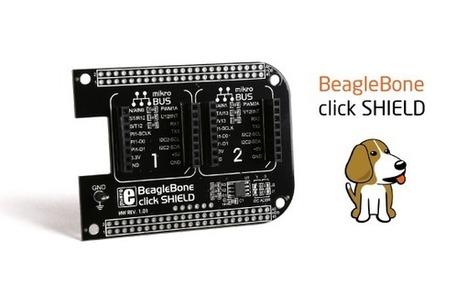 News - BeagleBone click shield released - | Raspberry Pi | Scoop.it