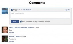 Facebook Serves Up Plugin for Comments on Mobile Websites | Social1 | Scoop.it