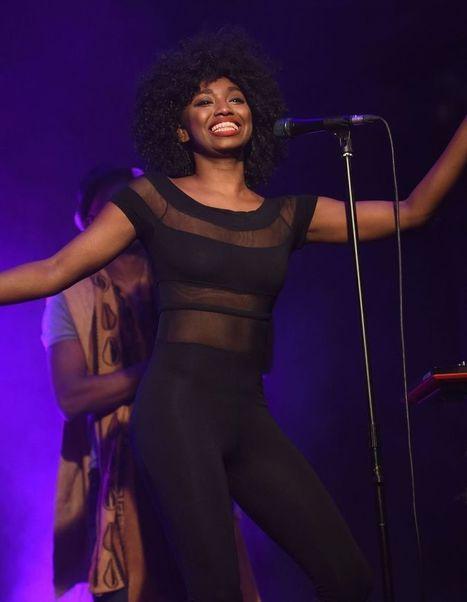 Photos : Oops les seins sexy de la chanteuse Inna Modja à Alcaline | Radio Planète-Eléa | Scoop.it