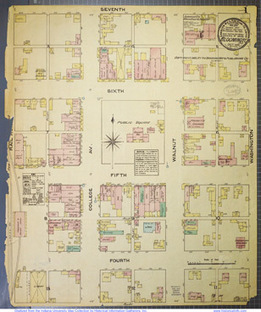 Public access to Indiana's historic Sanborn maps provides treasure trove of ... - Indiana University | Cartography | Scoop.it