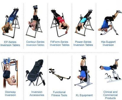 Incredible Benefits of Hang-up Inversion Tables | Fitness tips | Scoop.it