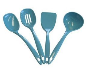 Calypso Basics Utensil Set of 4 Turquoise - Kitchen Things | Stuff for the Home | Scoop.it
