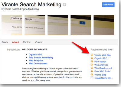 How to Verify Your Google+ Brand Page with Google | Virante Orange Juice | GooglePlus Expertise | Scoop.it
