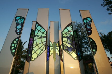 here's a modern work of art located in Palm Beach Gardens. | The Arts for the world | Scoop.it