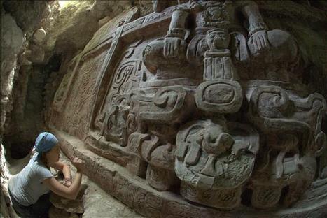 Descubren el friso más espectacular de la cultura maya en Guatemala | art | Scoop.it