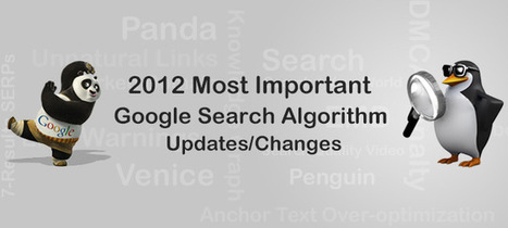 Google Search Algorithm Updates in 2012 [INFOGRAPHIC] | E2M Solutions Blog | All Things Internet Marketing | Scoop.it