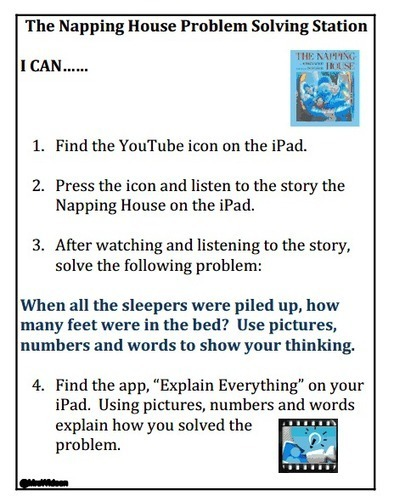 Explain Your Thinking With Math Stations and the Explain Everything App ~ Mrs. Wideen's Blog | Incorporating Design and Digital Technology into Mathematics | Scoop.it