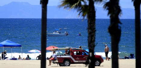 'Aggressive' shark bumps into surfer, prompting swimming ban in Huntington Beach   What Interests Me   Scoop.it