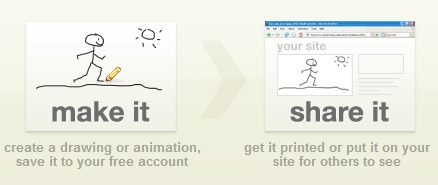 Make it Share it - Free online drawing and animation tools | veillepédagogique | Scoop.it