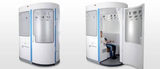 Une cabine à la place du médecin   8- TELEMEDEC...