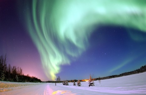 The Northern Lights | Topical English Activities | Scoop.it