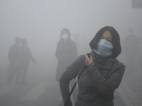 PHOTOS. Une ville chinoise suffoque, asphyxiée par la pollution | Urbanitudes | Scoop.it