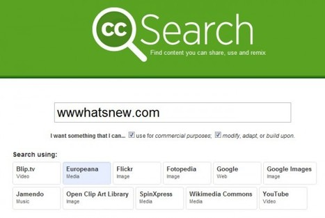 Buscadores de imágenes con licencia Creative Commons | Tice Fle, Ele | Scoop.it