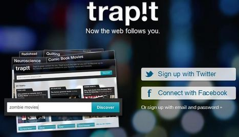 Discover Trapit Web App   Best Free Software   Scoop.it