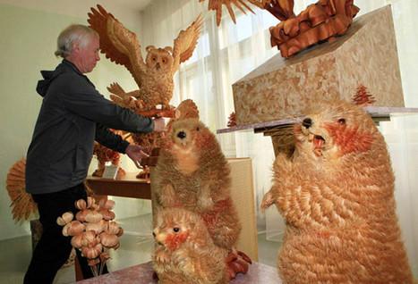 Un talentueux sculpteur d'animaux sur bois... Sergei Bobkov - Le ... | Nature & Civilization | Scoop.it