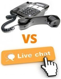 Telephone Answering Service VS Live Chat Service - Which Service to Opt and When? | Live Website Chat Supprot Services | Scoop.it