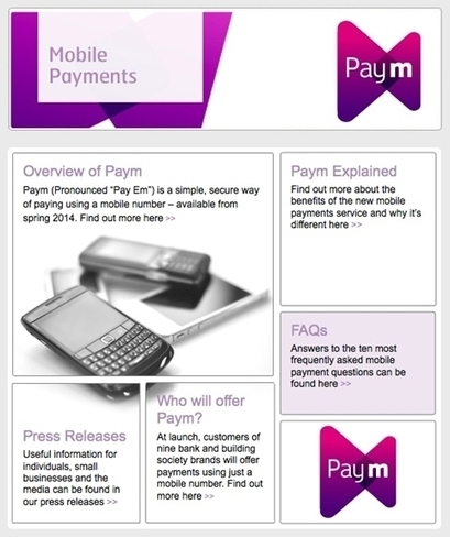 Mobile payment service Paym set to launch - Design Week | customer expirience | Scoop.it