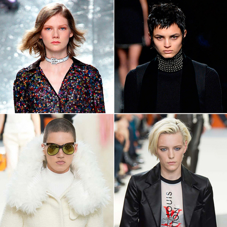 Cropped Tops: 5 Runway-Inspired Short Hairstyles to Try This Spring - Style.com | Hair There and Everywhere | Scoop.it