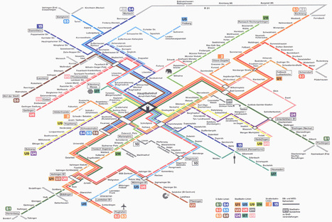 How to Design the Perfect Subway Map | Visual Thinking | Scoop.it