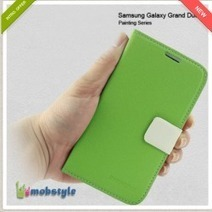 Green Meifeng Painting Series Cover with Wallet and Stand for Samsung Galaxy Grand Duos | Samsung Galaxy Grand Duos | Scoop.it