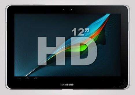 Une tablette de 12 pouces chez Samsung ? - Le Journal du Geek | allforphone | Scoop.it