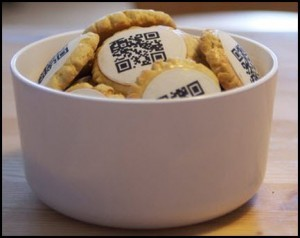 QR codes on cookies make a splash in an ebook store campaign - QR Code Press | QR Code Art | Scoop.it