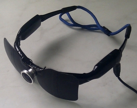 New Device Lets the Blind 'Read' and 'See' | omnia mea mecum fero | Scoop.it
