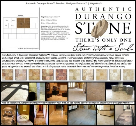 7 of 13 West Coast Travertine Tile Flooring Design Patterns | Popular Marble Limestone Travertine Tile Patterns | Scoop.it