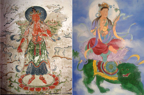 Botched Chinese temple fresco restoration sparks outrage | Strange days indeed... | Scoop.it