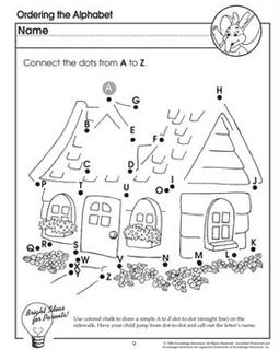 Ordering the Alphabet - Letter Worksheet for Preschoolers - JumpStart | Educational Resources for Kids | Scoop.it