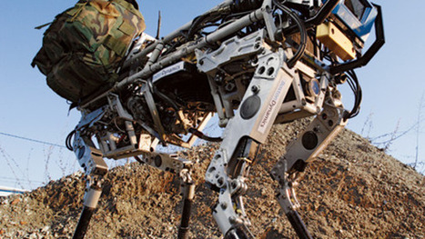Google Buys New Robots Which Run Faster Than Humans | Robots and Robotics | Scoop.it