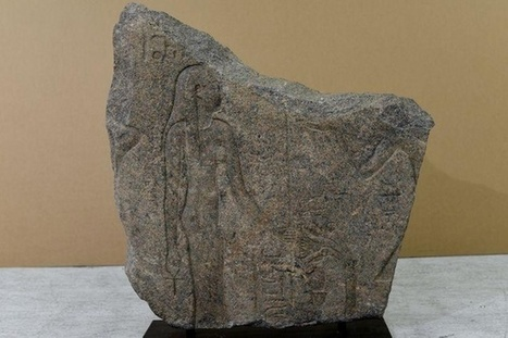Stolen stone slab to be returned to Egypt. @investorseurope @blockchain | Culture, Humour, the Brave, the Foolhardy and the Damned | Scoop.it