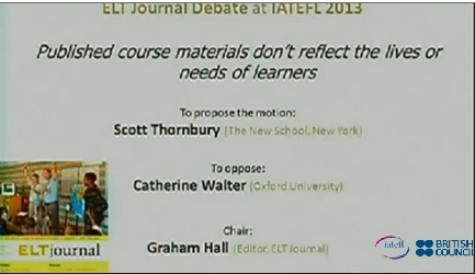 ELT Journal Signature Event - Published course materials don't reflect the lives or needs of learners | Liverpool Online | #AusELT Links | Scoop.it