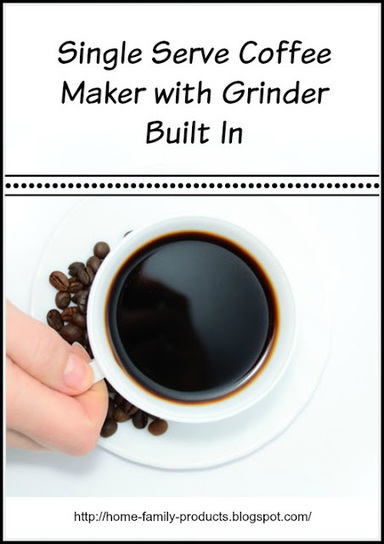 Home and Family Products: Single Serve Coffee Maker with Grinder Built In | Homemaking | Scoop.it