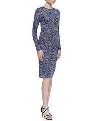 Leopard-Print Long-Sleeve Dress | warmhat | Scoop.it