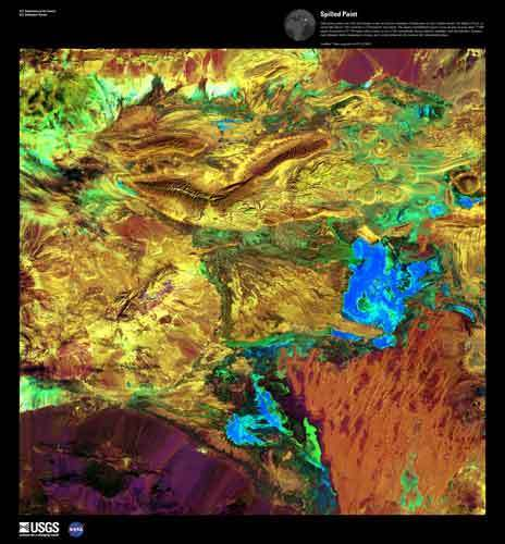 Earth as Art  | Earth Resources Observation and Science (EROS) Center | De Natura Rerum | Scoop.it