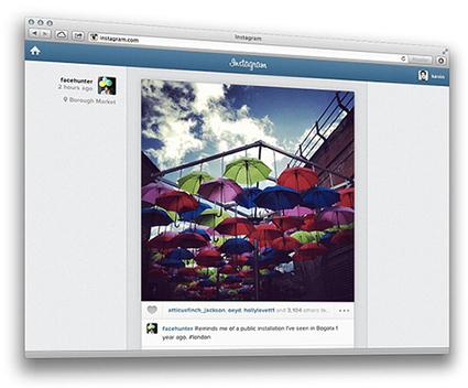 Instagram lance sa version 100% Web | Geeks | Scoop.it