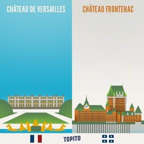 Top 23 des illustrations « France vs Québec » | Remue-méninges FLE | Scoop.it