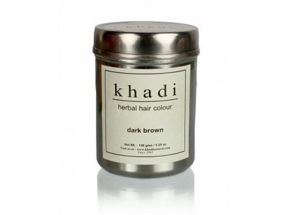 Buy Khadi Herbal Hair Colour(Dark Brown) Online | Herbal and Natural Hair Color | Scoop.it