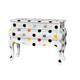 Decorar muebles con círculos de colores - Lukor | Muebles retro | Scoop.it