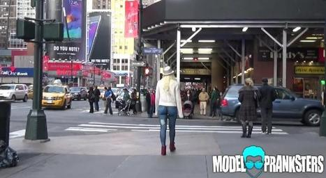 Hot Girl Walks Around NYC With No Pants and Nobody Notices !!   A Rich Selection Of The Latest News www.canbeweird.com   Scoop.it