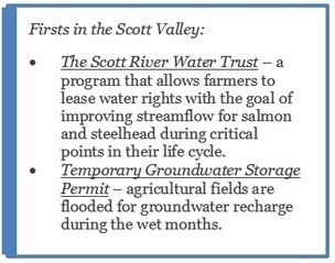 Scott Valley pioneers instream flow and groundwater management for reconciled water use | water news | Scoop.it