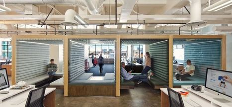7 Creative Office Designs to Get You Inspired for 2016 | Inspired By Design | Scoop.it