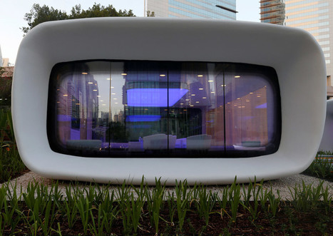 """Dubai 3D Printed This """"Office of the Future"""" in Less Than 3 Weeks 