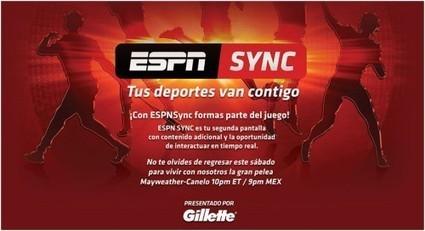 ESPN Sync web app brings second-screen experience during live ... | Sport Digital | Scoop.it