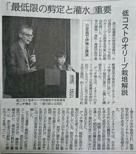 「最低限の剪定と灌水」重要 小豆島でオリーブ栽培を伊博士解説 | Olive News Japan | Scoop.it