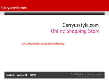 Online shopping store | carryurstyle-blogging | Scoop.it