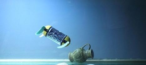 U-Cat, un robot tortue pour explorer les fonds marins [Vidéo] | Ma veille - Technos et Réseaux Sociaux | Scoop.it
