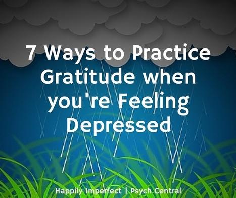 7 Ways to Practice Gratitude When You're Feeling Depressed | the White Samurai | Scoop.it